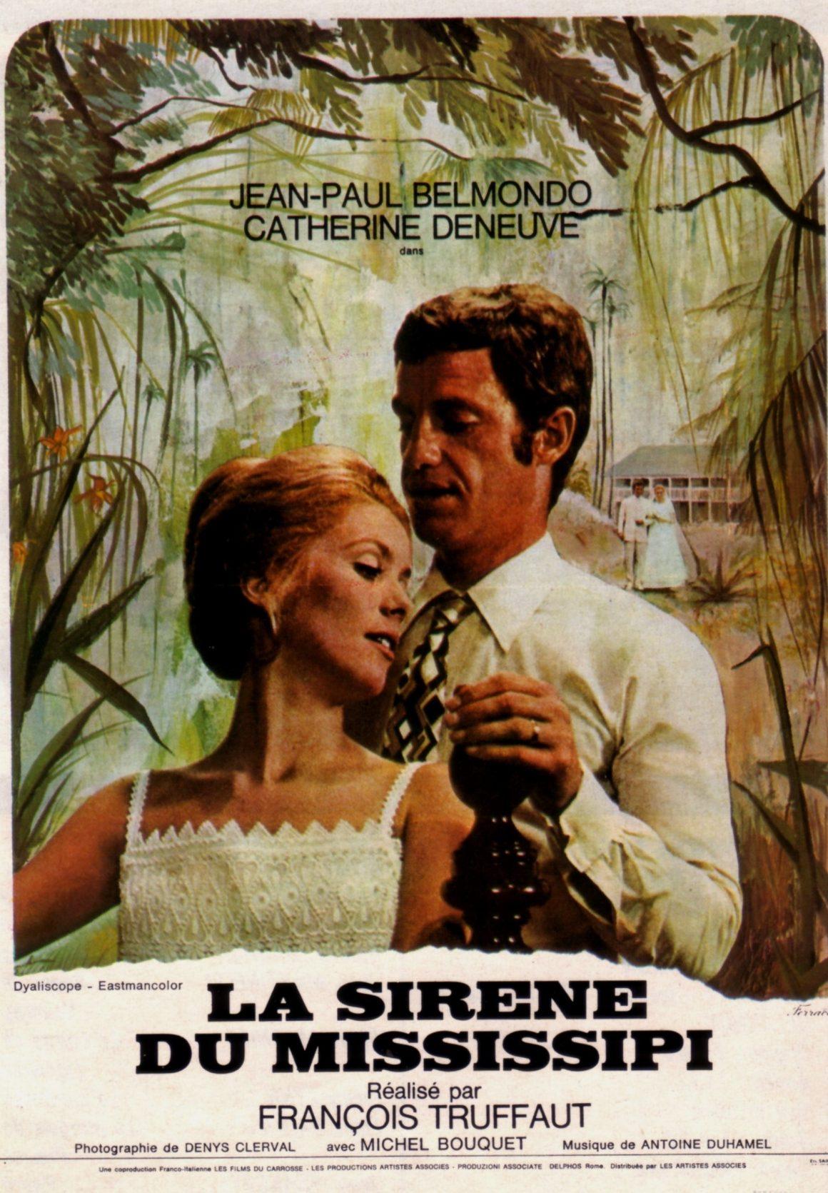 Sirena del Mississippi de François Truffaut