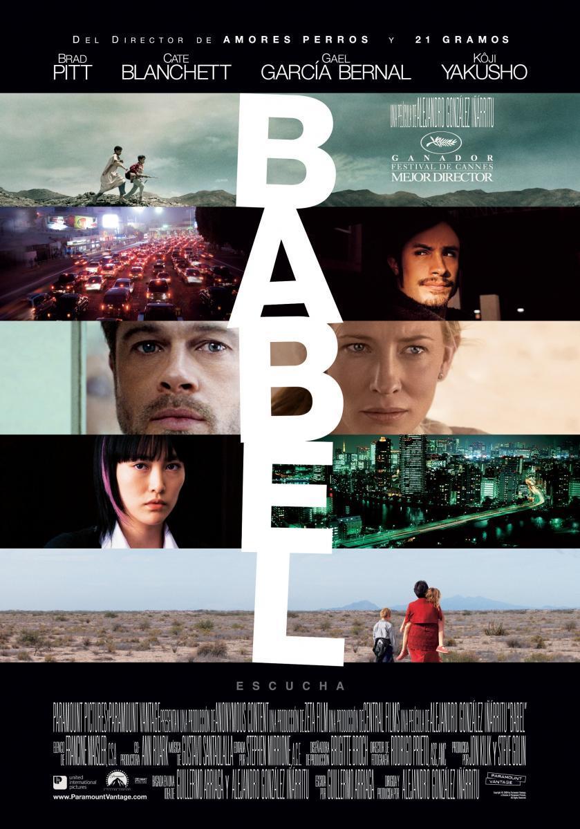Babel Alejandro González Iñárritu-cartel