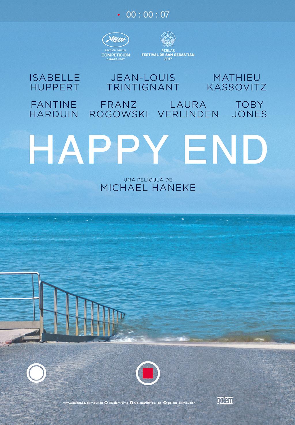 Happy End Michael Haneke cartel